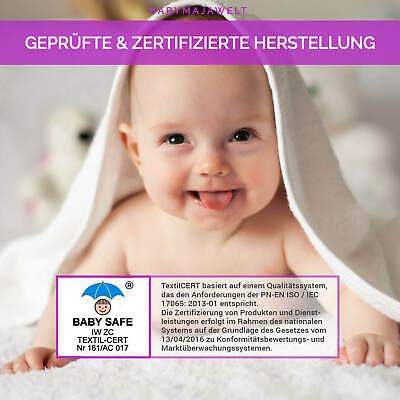 Mullwineln 60 80x80 weiß Spucktücher Stoff Baumwolle Mehrweg Babymajawelt® 6