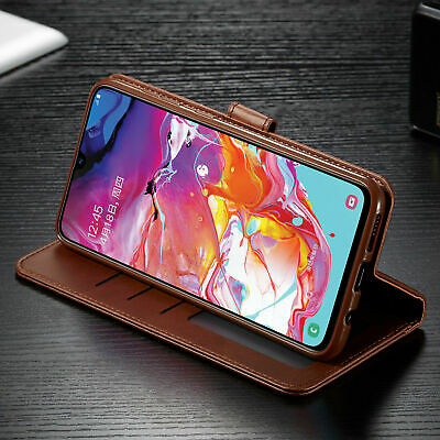 For Samsung Galaxy A70 A50 A40 30 A10 PU Leather Magnetic Wallet Flip Case Cover 5