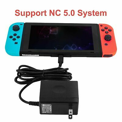 AC Adapter Power Supply Wall Charger For Nintendo Switch Dock & Pro Controller 4