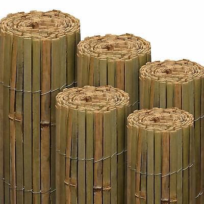 Garden Bamboo Fence Slat Screening Slatted Privacy Shield Wind/Sun Protraction 2