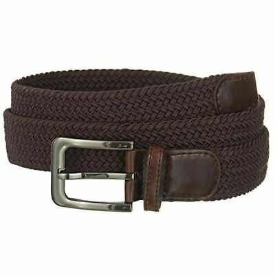 """Premium Men's Braided Stretch Belts - Comfortable Golf Belt 1.5"""" New Without Tag 2"""