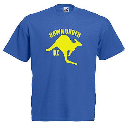 Australia Kangaroo Adults Mens T Shirt 4