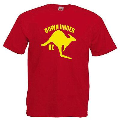 Australia Kangaroo Adults Mens T Shirt 6