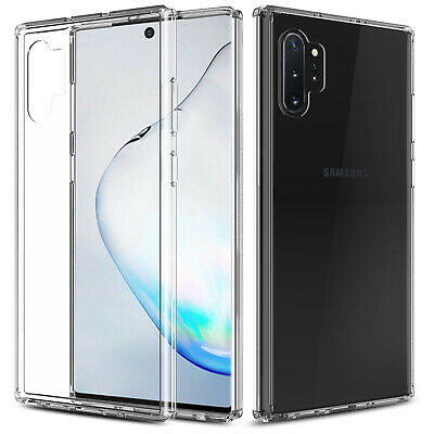 For Samsung Galaxy Note 10+ Plus 5G Clear Case With Full Cover Screen Protector 2