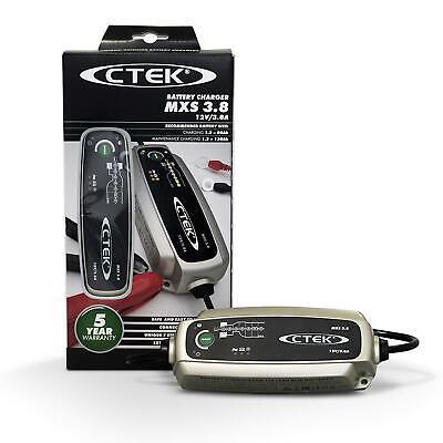 CTEK Multi MXS 3.8A 12V Car Battery Smart Trickle Charger & Comfort Indicator 6