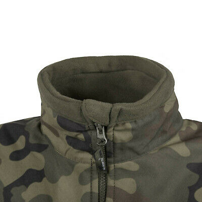 Helikon Tex Infantry Duty Fleece Jacket Black schwarz Outdoor Jacke 5