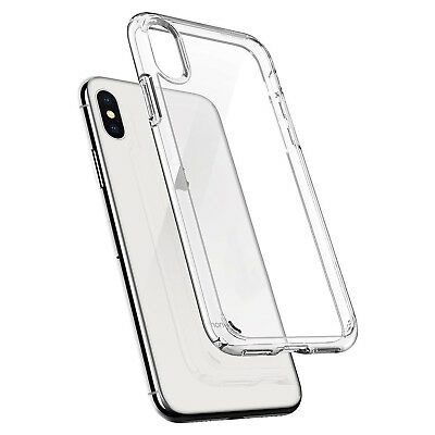 COVER CUSTODIA per PER APPLE  IPHONE X XS MAX XR TRASPARENTE MORBIDA SOTTILE 2