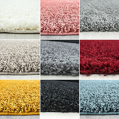 SHAGGY RUG 5cm HIGH PILE SMALL EXTRA LARGE THICK SOFT LIVING ROOM FLOOR BEDROOM 3