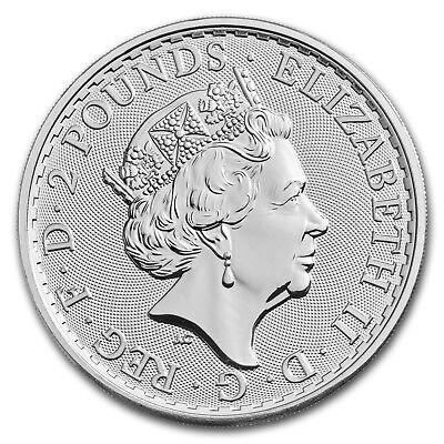 2018 GB 1 oz Silver Britannia (25-Coin MintDirect Premier® Tube) - SKU#152519 3