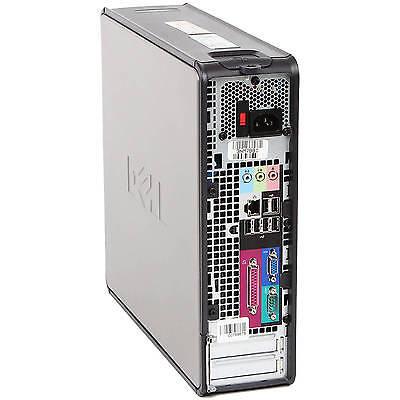 Fast Dell Quad Core Pc Computer Desktop Tower Windows 10 Wi-Fi 8Gb Ram 500Gb Hdd 3