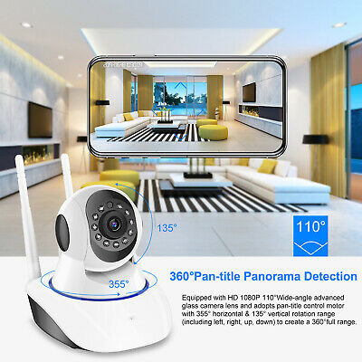 720P/1080P Wireless IP Security Camera Indoor CCTV Home Smart Wifi Baby Monitor 5