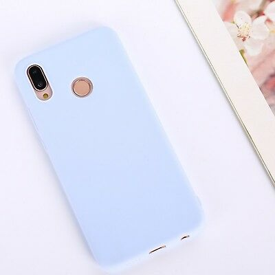 Candy Color Case for Huawei Y5 Y6 Y7 Y9 Honor 8x P20 Cover Smart Soft Silicon 11