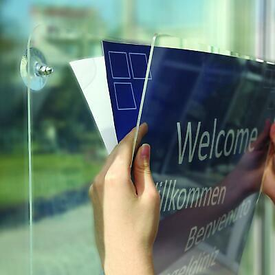 M&T Displays Acrylic Clear Sign Holder (11x14 Portrait) 2