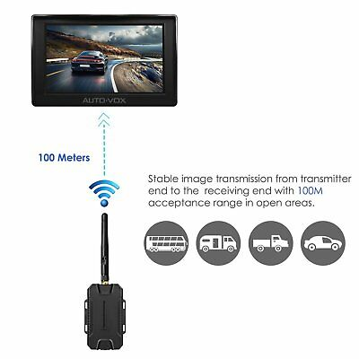 AUTOVOX M1W Wireless Parking Backup Camera + 4.3'' TFT LCD Rear View Monitor 2