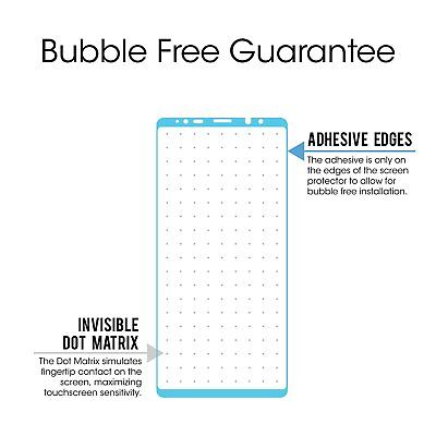 Full Coverage Tempered Glass Screen Protector Samsung Galaxy S7 S8 S9 Note 8 9 3