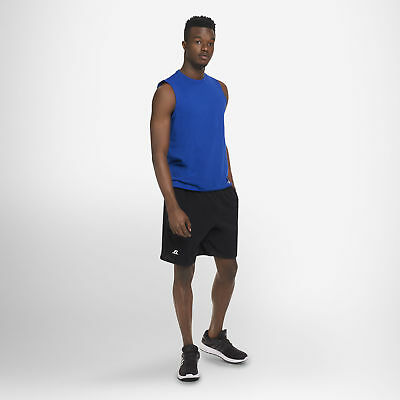 Russell Athletic Men's Cotton Performance Baseline Short with Pockets 10