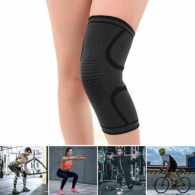 2pcs Knee Sleeve Compression Brace Support For Sport Joint Pain Arthritis Relief 11