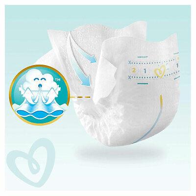 PAMPERS New Baby Taille 1 - 2 à 5Kg - 264 Couches Pour Bébé - Format Pack 1 Mois 8