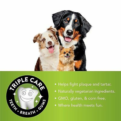 Whimzees Veggie Sausages Small 28pk treat chew reward natural dental vegatable