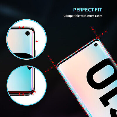 Galaxy S10 S9 S8 Plus S10e Note 9 8 Full Tempered Glass Screen Protector Samsung 5