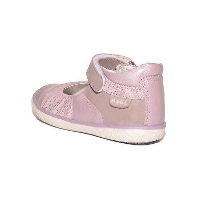 Noel Girls Mini Alize Lilac Leather High Back Shoes UK 7 EU 24 US 7.5 RRP £45.00 2