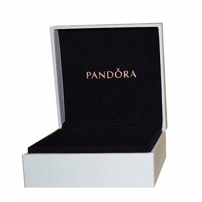 Authentic Pandora Charm Bracelet Silver Bangle with Gold European Charms New Box 2