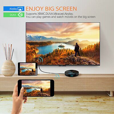 Android 9.0 HK1 MAX Mini Smart Media TV Box 4K HD BT4.0 Quad Core Wifi TV Caja 6