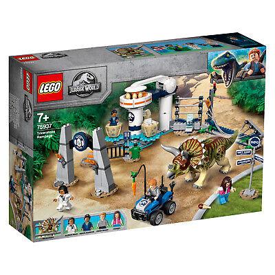 LEGO Jurassic World 75938 75937 75935 75934 T.REX Triceraptos Dilphosaurus N7/19 3