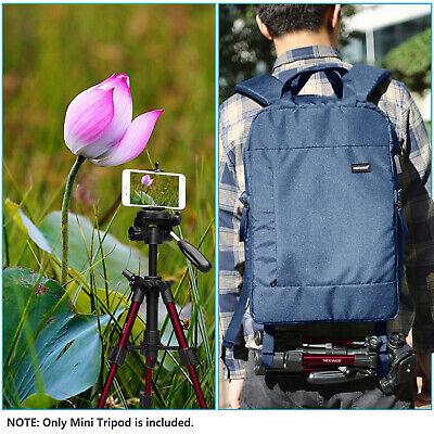 Neewer Red Mini Travel Tabletop Camera Tripod 62cm with 3-Way Swivel Pan Head 7