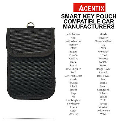 2x RFID Key Pouch Car Signal Blocker Faraday Case for Keyless Entry Vehicles 5