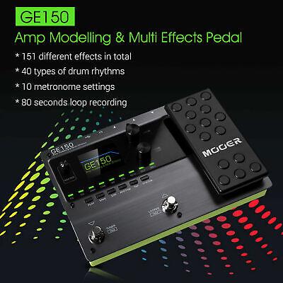MOOER GE150 Amp Modelling & Multi Effects Pedal 55 Amplifier Models New release 8