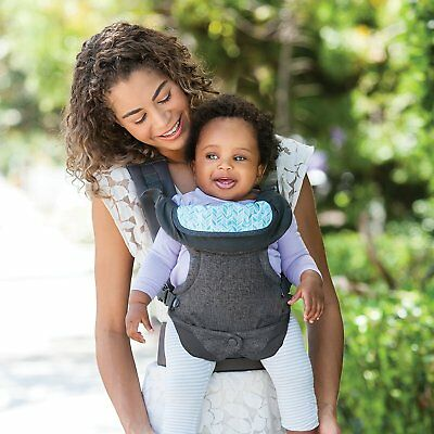 Infantino Flip Advanced 4-in-1 Convertible Carrier, Light Grey 7