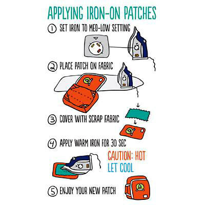 Mountain Made Embroidered Iron-On / Sew-On Patch Vacation Souvenir Explore More 4