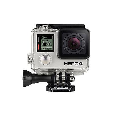 GoPro Actionkamera HERO4 Black Schwarz 4K Actioncam Kamera + LCD Touch BacPac