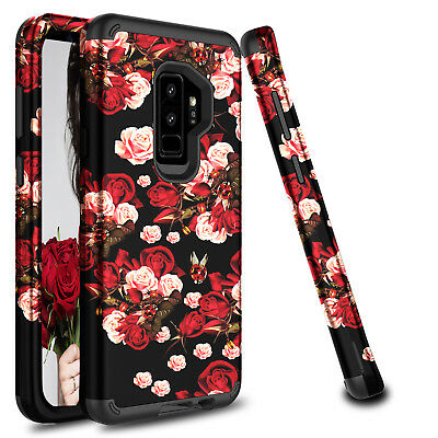For Samsung Galaxy S9 Plus/S8 Shockproof Hybrid Hard Armor Full Cover Phone Case 2