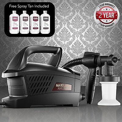 Maximist Evolution Tnt Spray Tan Kit Complet + Pop-Up Tente + Omg Solution X 4 2