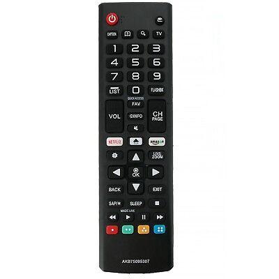New AKB75095307 Remote Control Replace for LG Smart TV 43LJ5550 49LJ550M 55LJ555 4