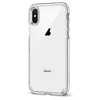 COVER CUSTODIA per PER APPLE  IPHONE X XS MAX XR TRASPARENTE MORBIDA SOTTILE 3