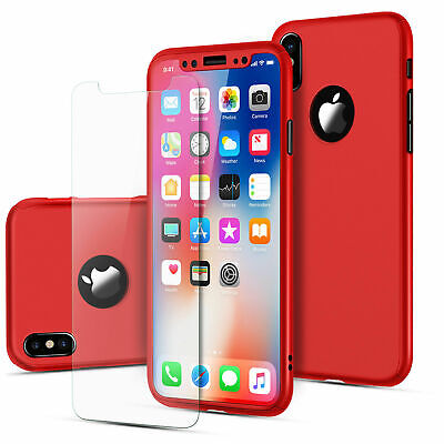 For iPhone 6 7 8 5s Plus XR XS Max Case Shockproof360 Bumper Hybrid Phone Cover 5