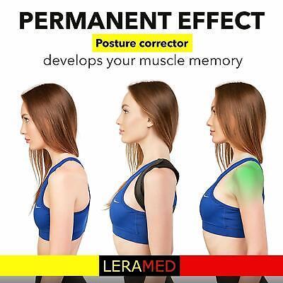 Posture Corrector Back Support Brace for Men Women Upper Back & Neck Pain Relief 4
