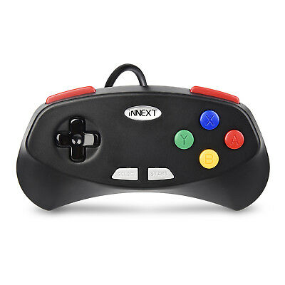 N64 / SNES / NES USB Wired Gaming Controller Pad Joystick For PC LAPTOP MAC 7