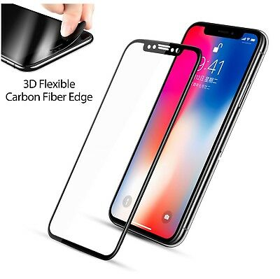 Full Coverage Tempered Glass Screen Protector For iPhone 6 7 8 Plus X Xs Max XR