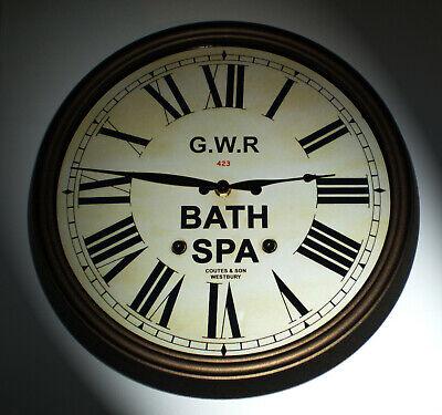 Great Western Railway GWR Victorian Style Clock, Bath Spa Station 2