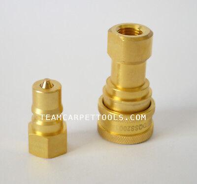 7.6m 3.8cm Nettoyage des Tapis Extracteur Aspirateur & 0.6cm Solution Tuyau W / 6