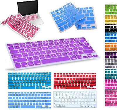 "Silicone Keyboard Skin Cover For Apple Macbook Pro Air  Mac Retina 13"" 15"" 17"""