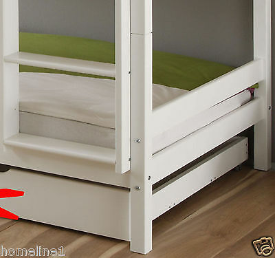 kinderbett etagenbett weiss hochbett spielbett kiefer. Black Bedroom Furniture Sets. Home Design Ideas