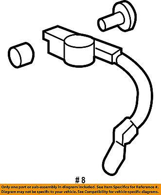 HONDA OEM 03-07 Accord Battery-Negative Cable 32600SDBA00