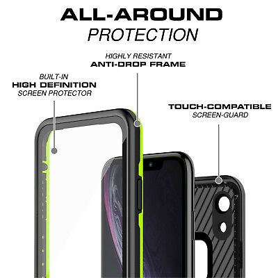 For Apple iPhone XR Xs Max Case Life Waterproof Dropproof Dirtproof Snowproof 2