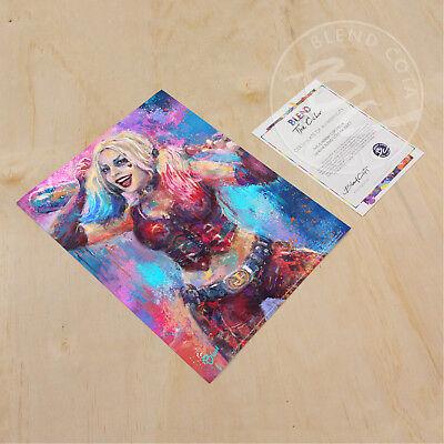Blend Cota The Joker and Harley Quinn 14 x 11 Art Prints
