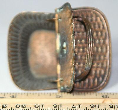 ANTIQUE c1880's;W. Avery & Son Redditch~~PICNIC BASKET Victorian NEEDLE CASE~~ 2